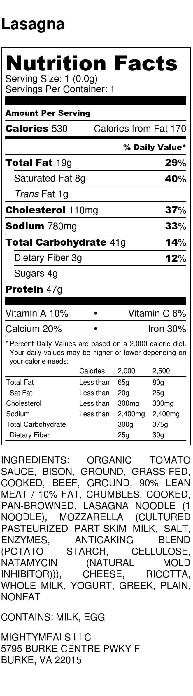 Fazoli S Nutrition Facts – Besto Blog